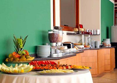 Café da manhã Pousada Villaggio Italia